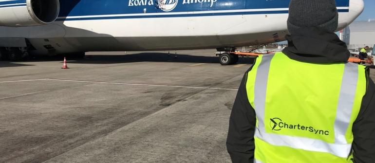 CharterSync در لیگ بزرگ با اولین حرکت باربری An-124