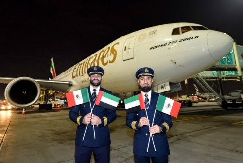 امارات ظرفیت بار را به مکزیکو سیتی اضافه می کند