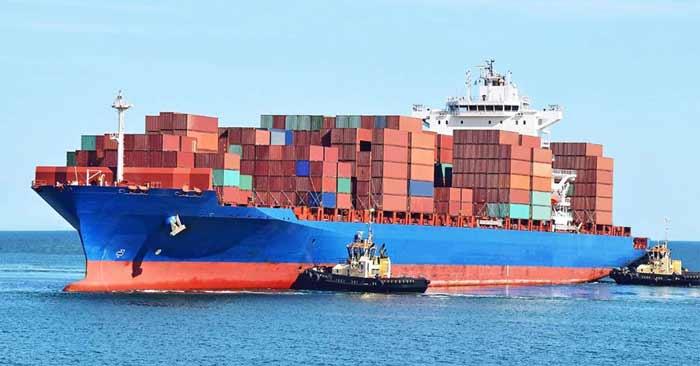 ارسال بار به آمریکا از طریق دریایی