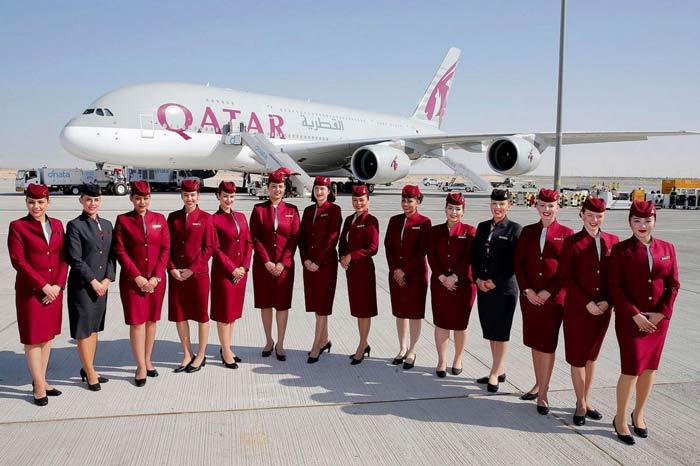 مقدار هزینه اضافه بار هواپیمایی قطر در مسیرهای خاص