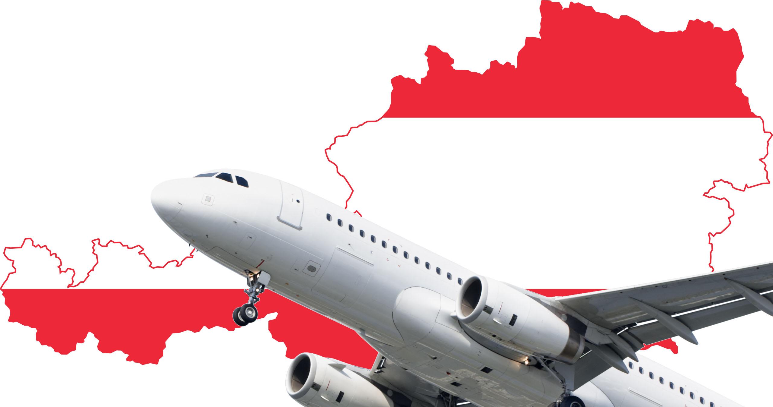 ارسال بار به اتریش، فریت بار اتریش، فرودگاه اتریش